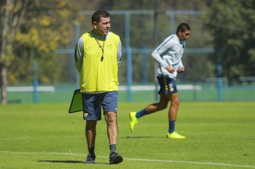 David Patiño, entrenamiento 27/11/2018