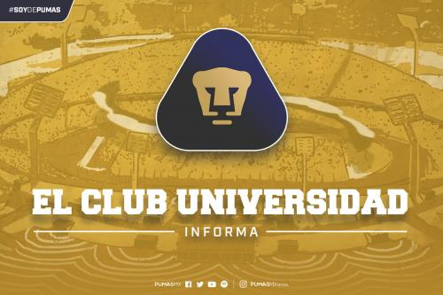 El Club Universidad Nacional, informa