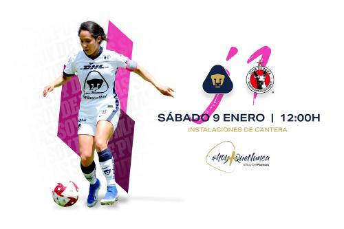 Pumas Femenil arranca como local este sábado